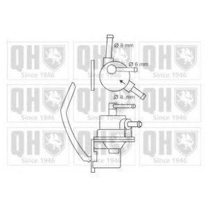 Механический бензонасос (P783) KYOSAN - Японія