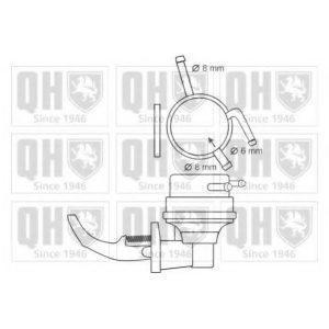 Механический бензонасос (P670) KYOSAN - Японія