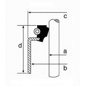 Сальник клапана (CO19019102) NOK - Японія