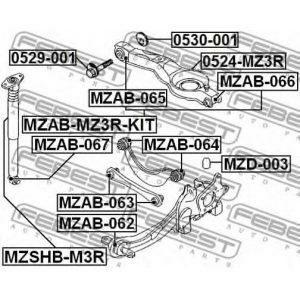 Амортизатор задний (G43-412) TASHIKO - Китай