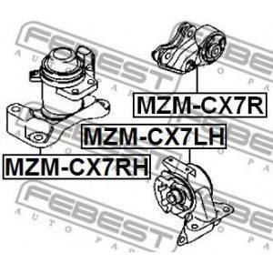 Подушка двигателя задняя (MEN-MZER2) GLOSS - Індонезія