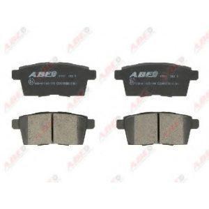 Колодки дисковые задние (C23015ABE) ABE - Корея