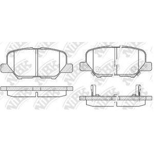 Колодки дисковые задние (37975) ABS - Нідерланди