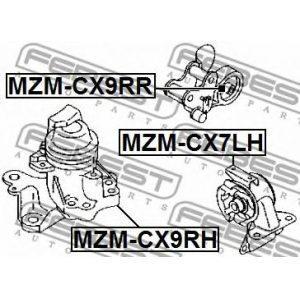 Подушка двигателя задняя (MEN-MZ001) GLOSS - Індонезія